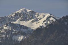 Die Alpen am Kochelsee