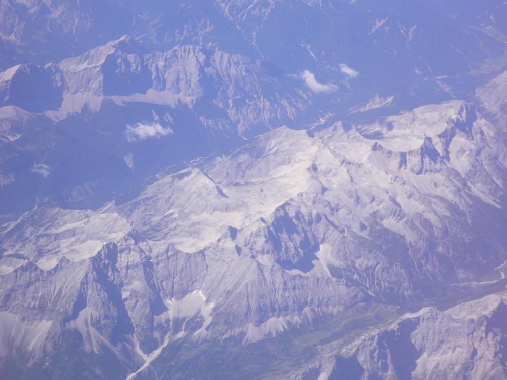 Die Alpen im Sommer