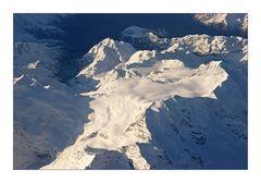 Die Alpen zum Greifen nahe