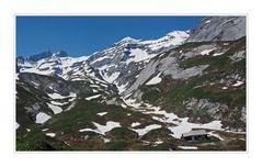 Die Alphütten warten...........