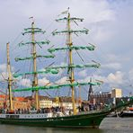 Die alte ALEX in Bremerhaven