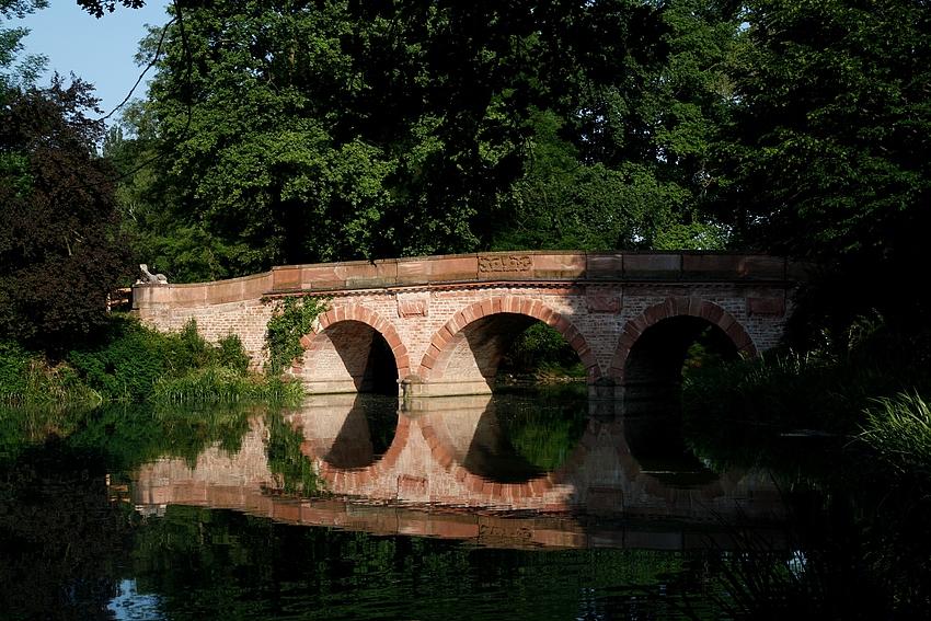 Die alte Brücke...