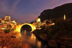 Die alte Brücke in Mostar