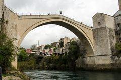 """Die """"Alte Brücke"""" von Mostar"""