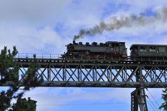 Die alte Dampf tschtsch Dampfeisenbahn