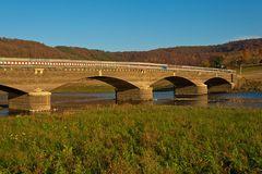 Die alte Ederbrücke bei Asel-Süd