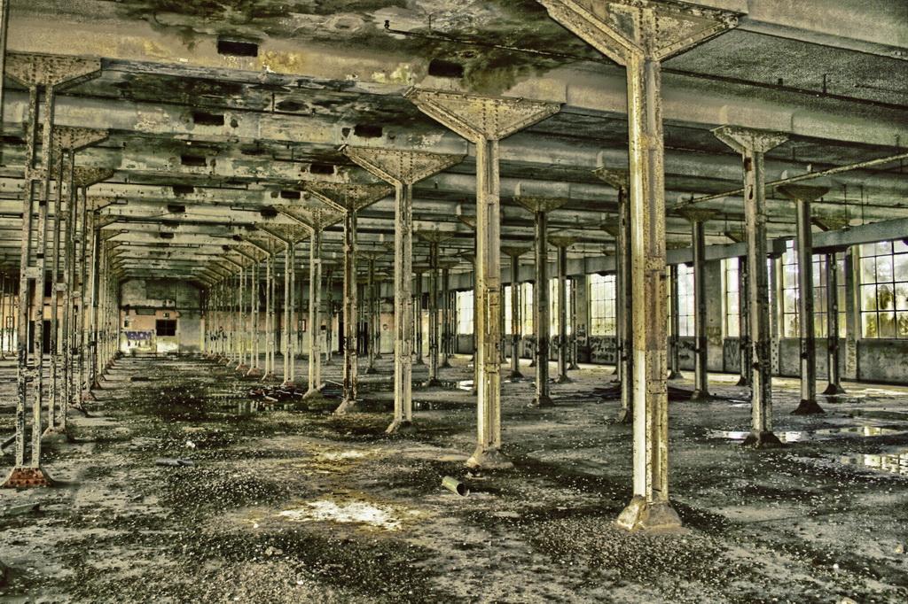 ... die alte Fabrik ...