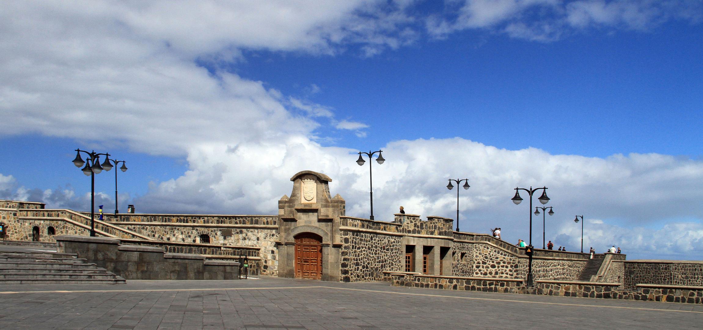 Die alte Festung am ehemaligen Hafen