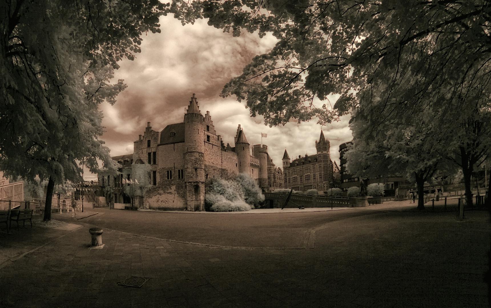 Die alte Festung von Antwerpen