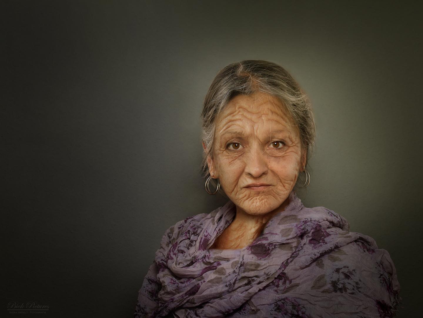 Die alte Frau