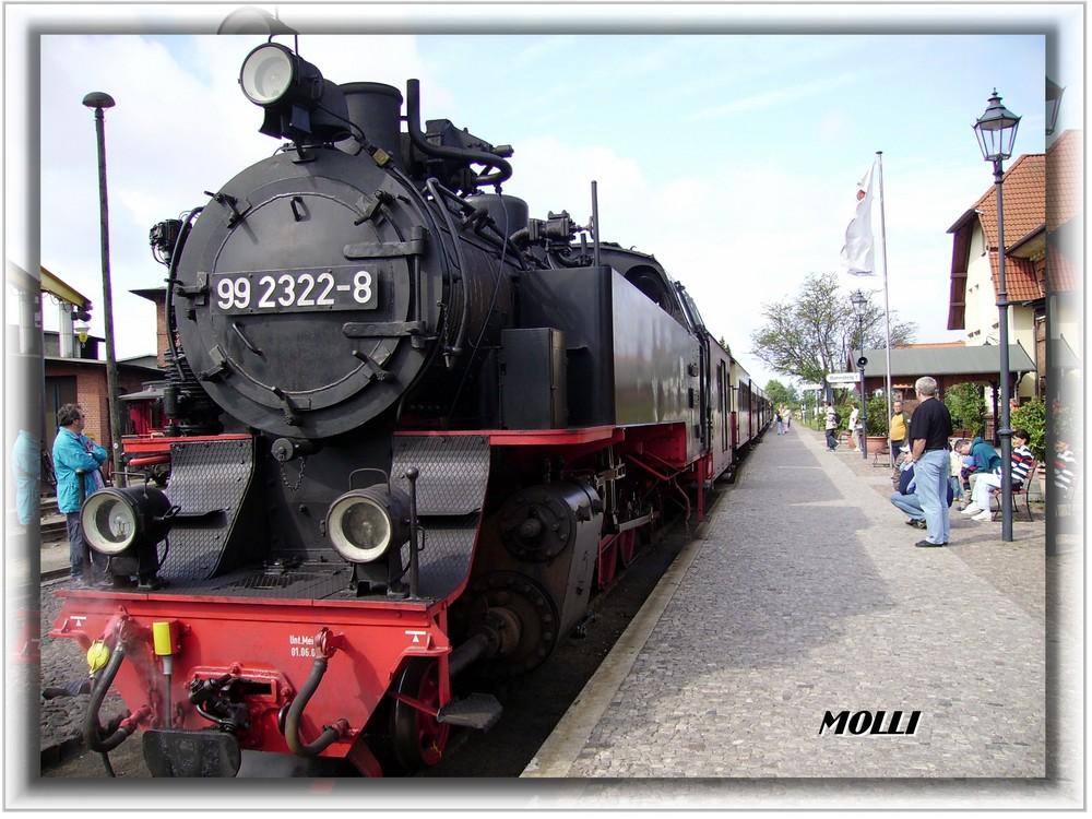 """Die alte gute """"Molli"""" — Kühlungsborn August 2007"""