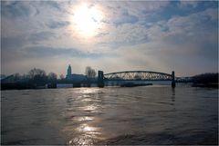 Die alte Hubbrücke in Magdeburg