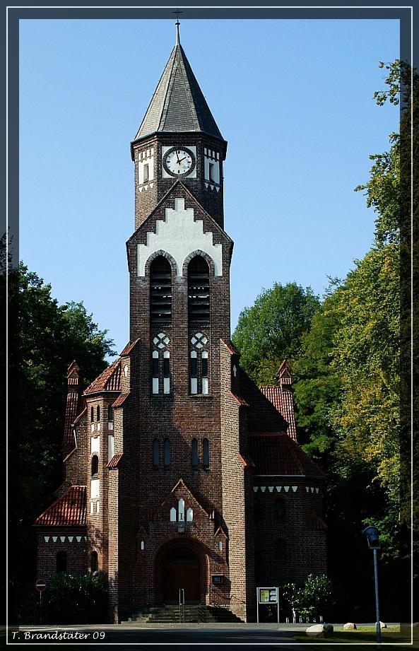 Die alte Kirche der LVR Klinik in Viersen....