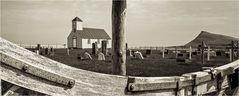 Die alte Kirche von Árnes...