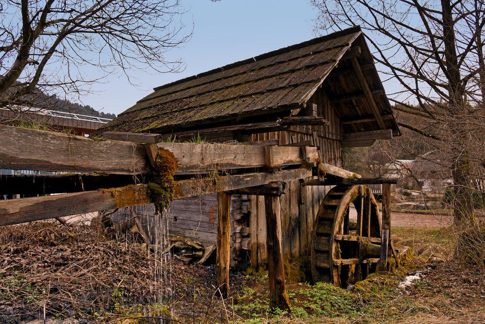 Die alte Mühle in Tirol