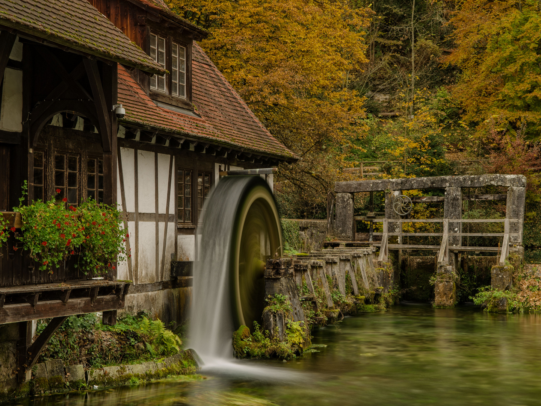 Die alte Mühle zu Blaubeuren