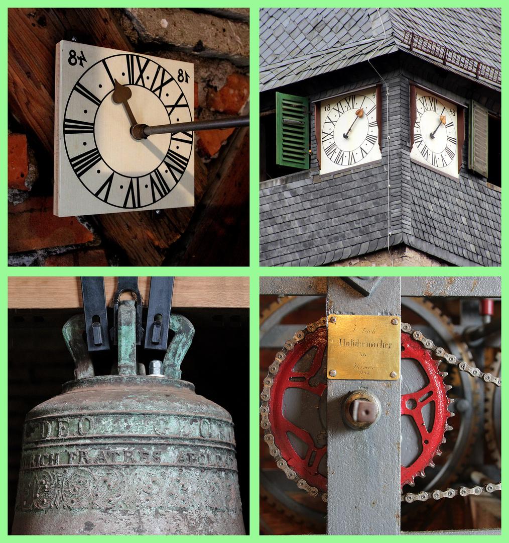 Die alte neue Turmuhr in St. Nikolai Jena Lichtenhain