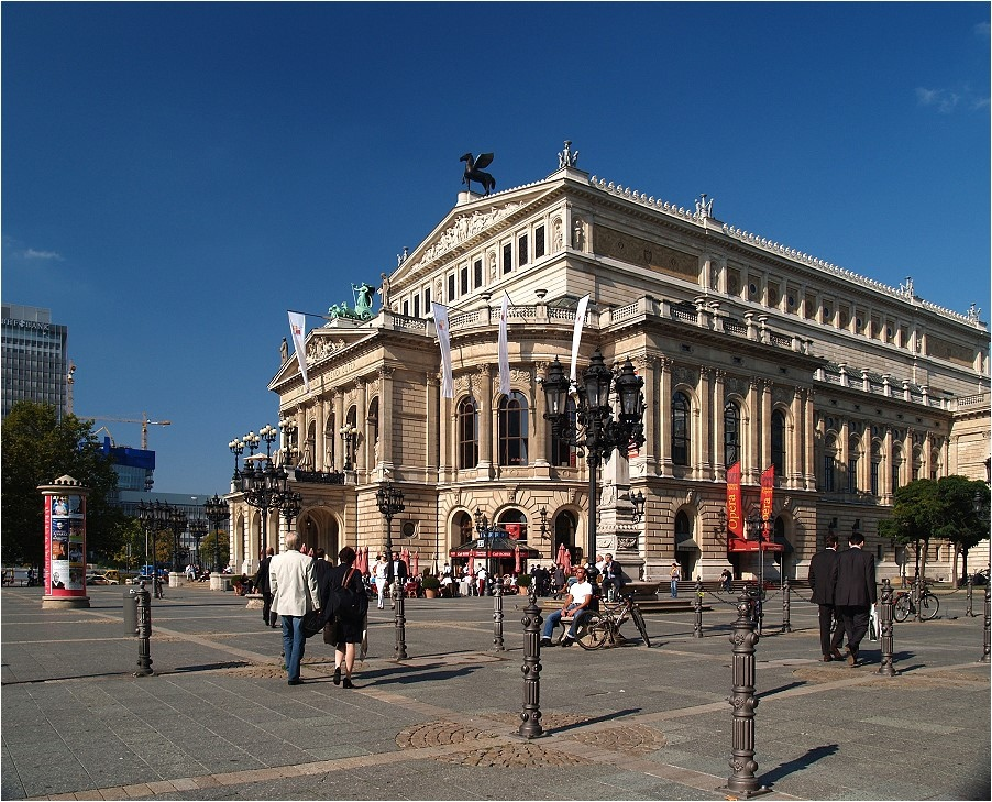Die Alte Oper in Frankfurt am Main