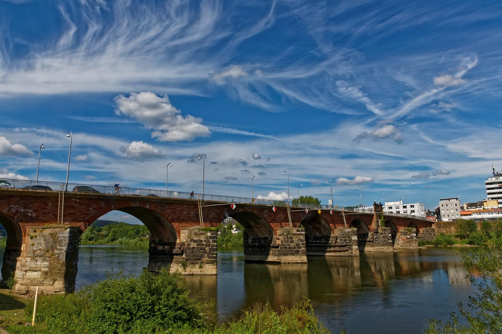 Die alte Römerbrücke Trier