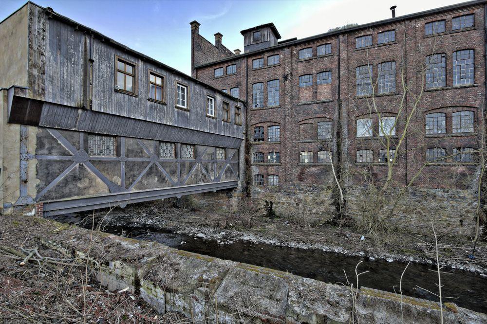 die alte Schraubenfabrik...