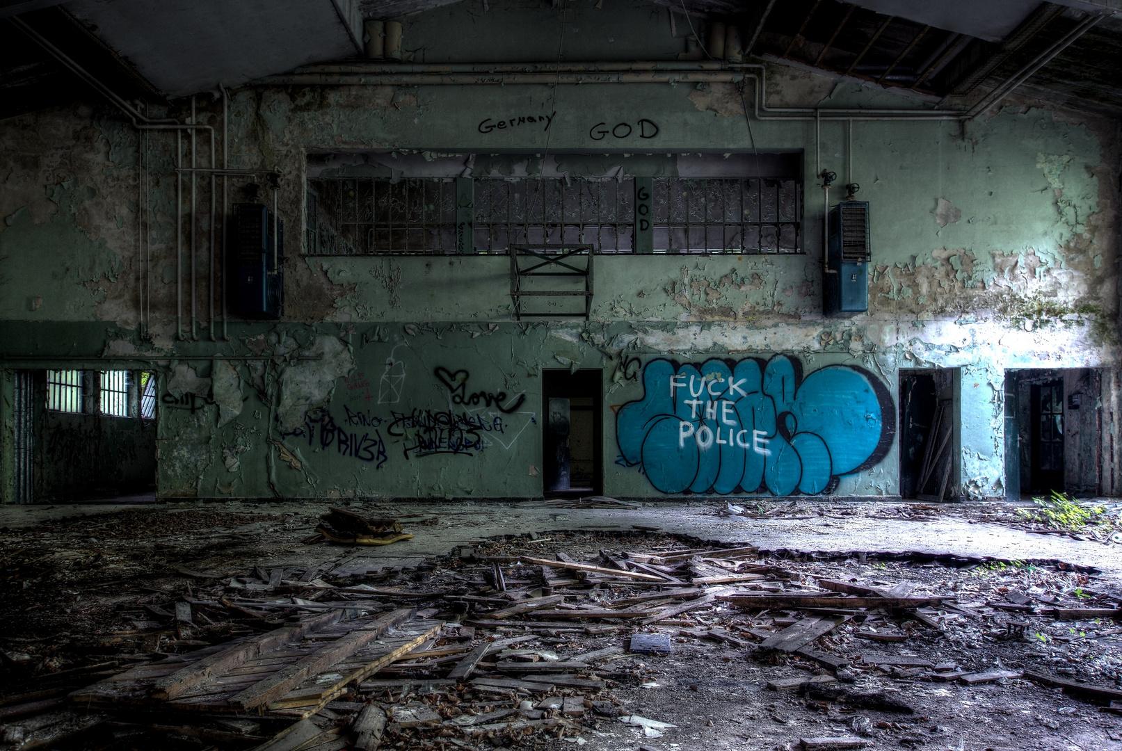 die alte Sporthalle...