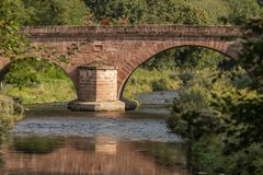 Die alte Steinbrücke in Hirsau