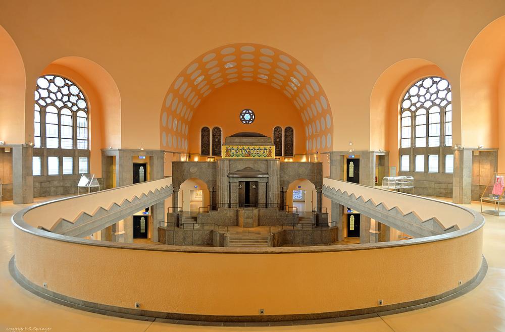 Die alte Synagoge ....