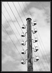 Die alte Telefonleitung.....