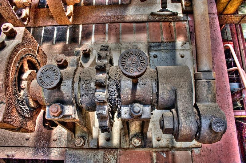 Die alte Textil-Fabrik Salzmann Company V