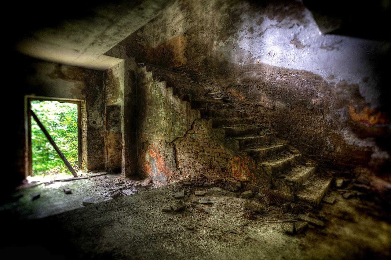 Die alte Treppe