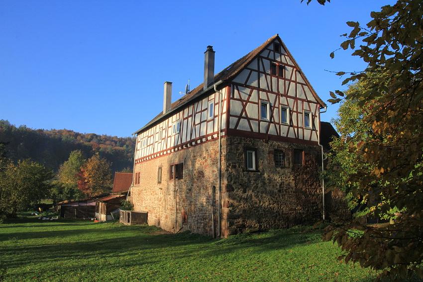 Die alte Wasserburg