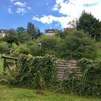 die alten Gärten zum beginnenden Herbst
