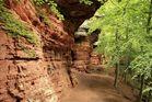 Die Altschlossfelsen sind eine Felswand aus Buntsandstein im Pfälzerwald   2