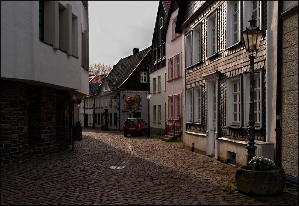 die Altstadt - Lüdenscheid