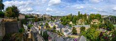 Die Altstadt Luxemburg und das Viertel Grund