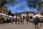 Die Altstadt von Pula