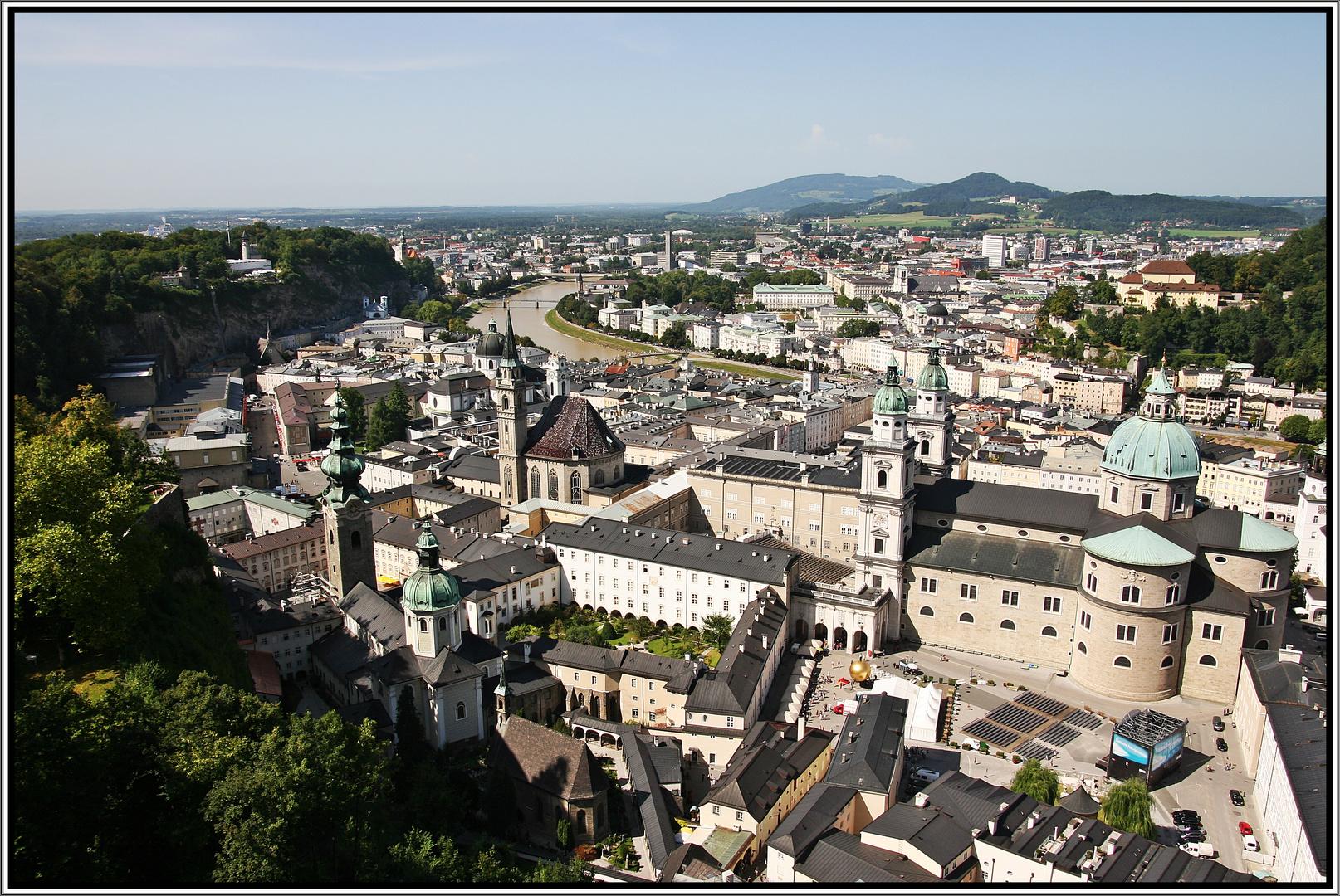Die Altstadt von Salzburg