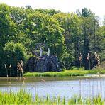 Die Amalieninsel im Wörlitzer Park