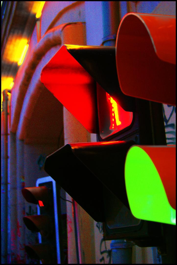 Die Ampeln vom Hackeschen Markt