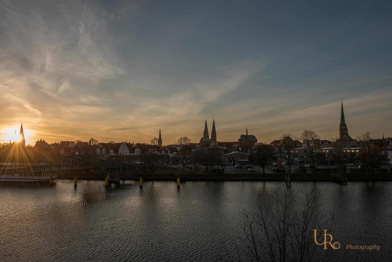 die andere Seite der Lübecker Altstadt