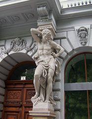 die Andrássy Straße in Budapest