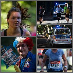 Die angestrengte und die lustige Seite eines Marathonlaufes...#1.559##