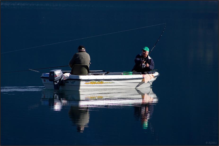 Die Angler vom Hardangerfjord