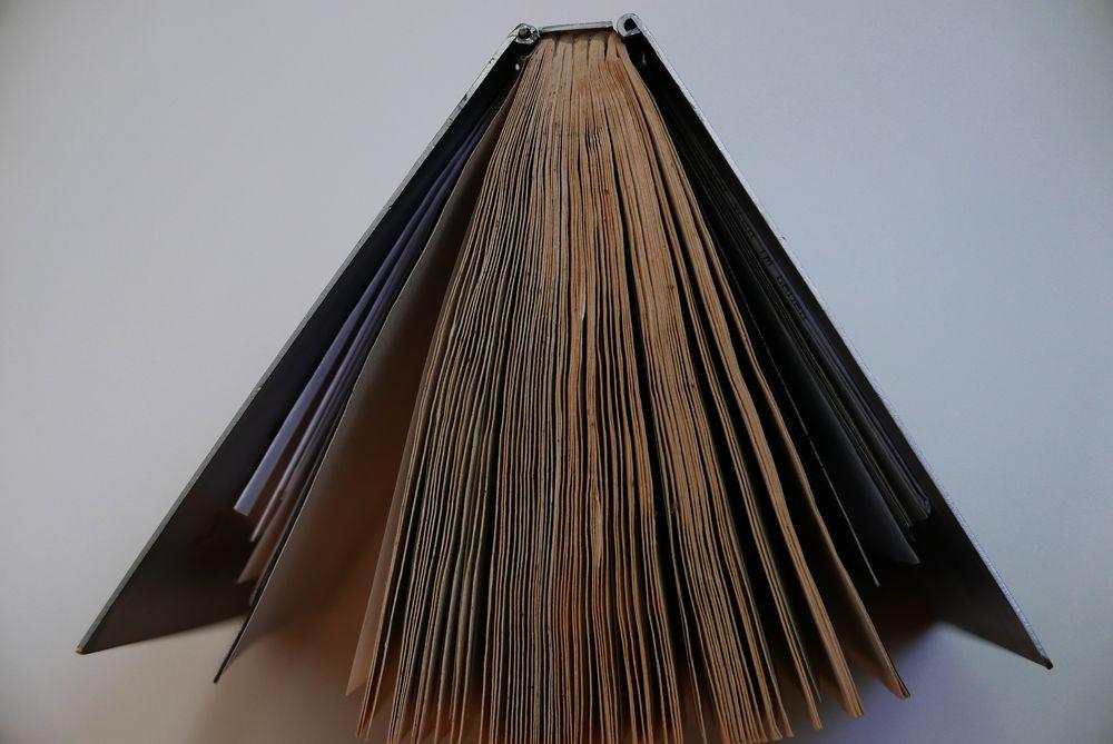 die Ansicht eines Buches