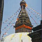Die Augen Buddhas, Stupa Swayambunath, Kathmandu. Nepal