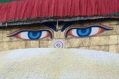 Die Augen vom Bodnath