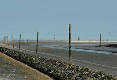 Die Außen-Harle - kurvenreiches Fahrwasser nach Wangerooge