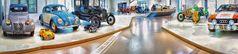 Die Automobil Ausstellung des Deutschen technischen Museum