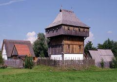 Die Bachritterburg in Kanzach