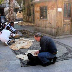 Die  Backerei in Aleppo